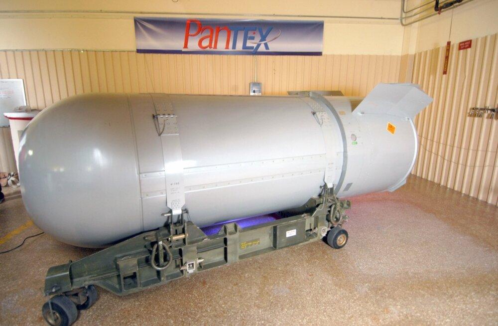 SIPRI: tuumariigid jätkavad arsenalide moderniseerimist