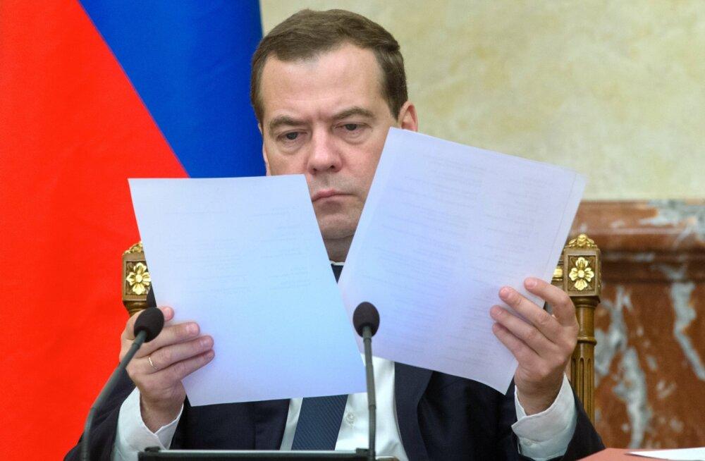 Venemaa valitsuse ametlik tunnistus: jah, sanktsioonid mõjutavad meie majandust