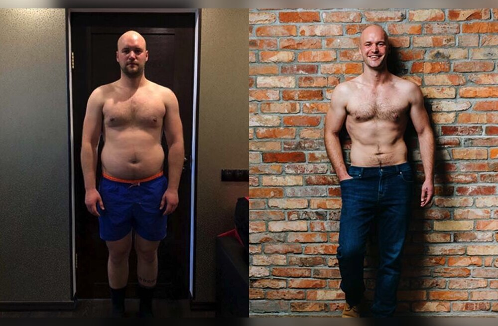 Tallinnast pärit Jaan paljastab, kuidas kaotas kiiresti ja lihtsalt 15 kilogrammi