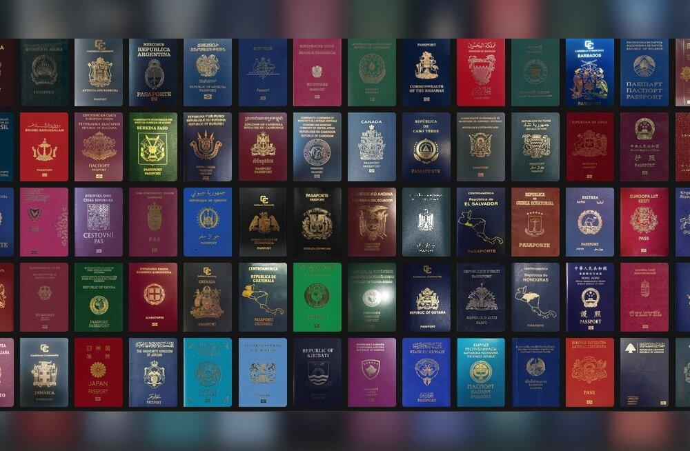 """Составлен рейтинг """"лучших"""" и """"худших"""" паспортов мира в 2018 году. На каком же месте эстонский паспорт?"""