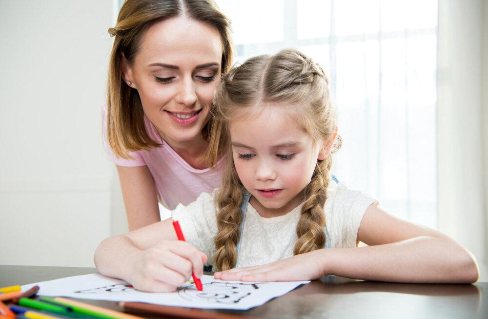 Kuidas tõlgendada lapse joonistatud perepilti?