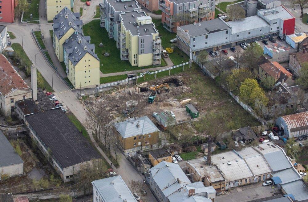 Ehitusfirmad ägavad riigi jagatava euroraha äralangemise all