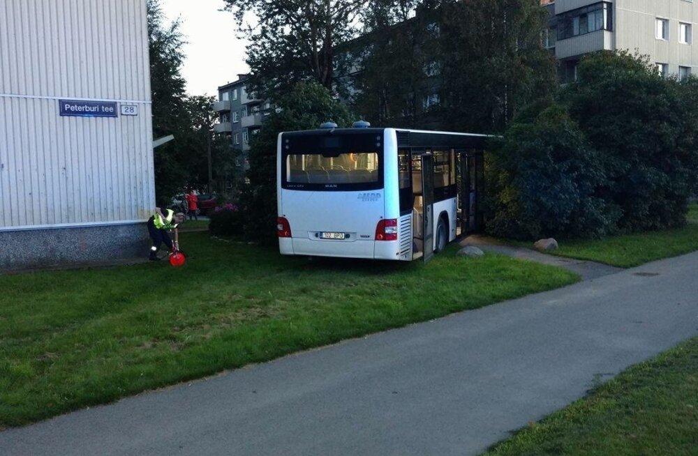 Bussiõnnetus Peterburi teel