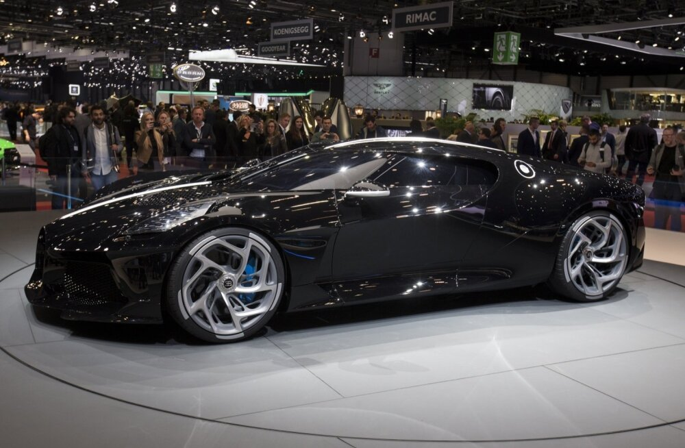 Bugatti Unveils World's Most Expensive New Car