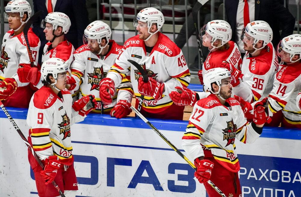 Hiina võistkond kolis KHL-is jätkamiseks Venemaale