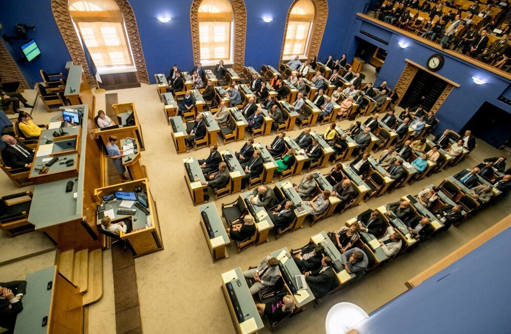 Riigikogu alustab tööd