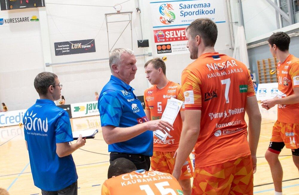 Credit 24 võrkpall Saaremaa VK ja Pärnu VKKuressaares