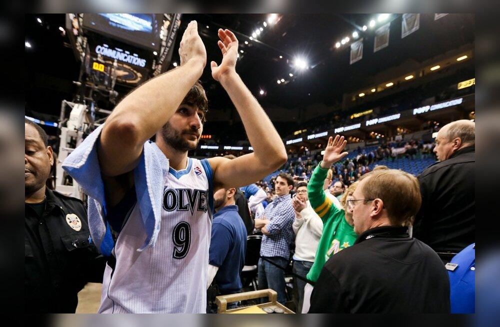 NBA TOP: Rubio ja Williams sepistasid ilusaima soorituse