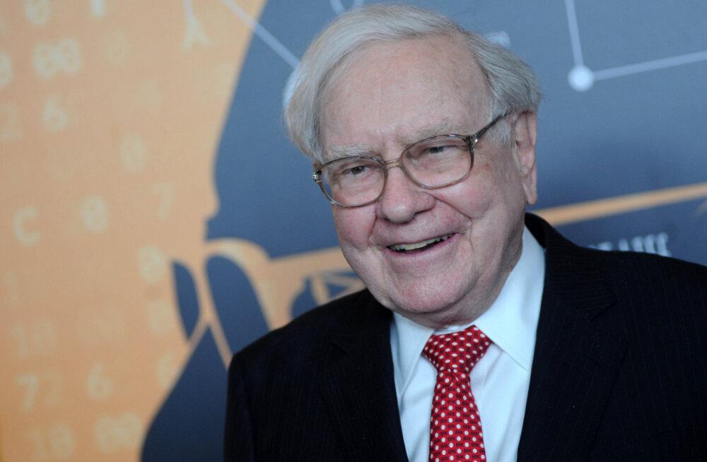 Investeerimisguru Warren Buffett kahekordistas torme vältides kasumi