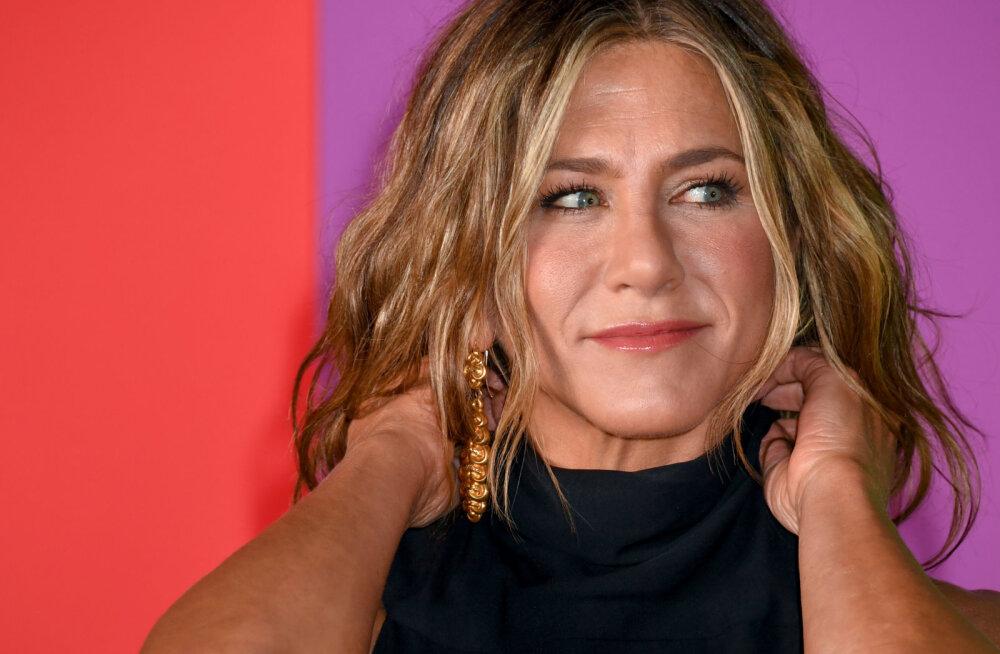 VIDEO | Jennifer Anistoni ootamatu, kuid siiras suudlus: üldiselt ma ei musita naistega