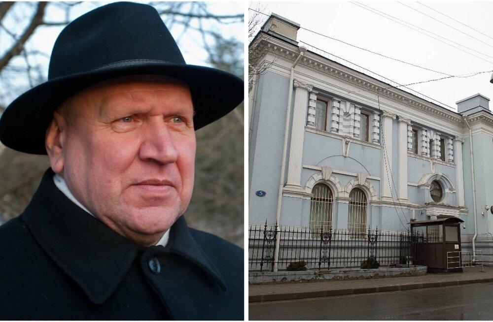 Mart Helme, Eesti saatkond Moskvas