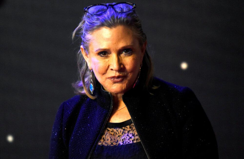 """Uurimine jätkub: """"Tähtede sõja"""" staari Carrie Fisheri surma ümbritsevad segased asjaolud"""