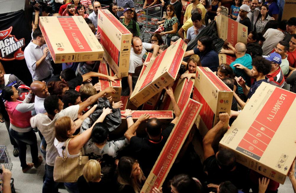 Hoidke alt, ostumaniakkide lemmikpüha Black Friday on käes: millistel netipoodidel tuleb silma peal hoida?