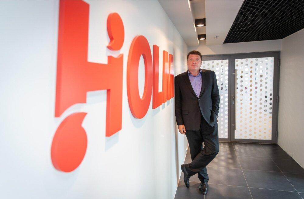 Holmi pank sai peale uue kontori ka uue juhi Rauno Klettenbergi, kes hakkab ellu viima panga kasvuplaani.
