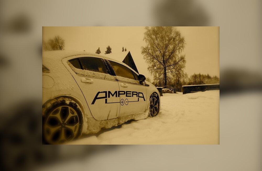 Ylle Rajasaar: Kohtumine Opel Amperaga