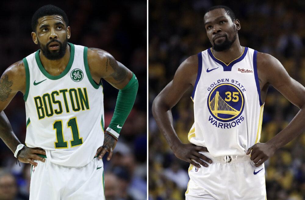 Tuhkatriinulugu: Kevin Durant ja Kyrie Irving liituvad klubiga, mis vireles paar aastat tagasi NBA põhjamudas