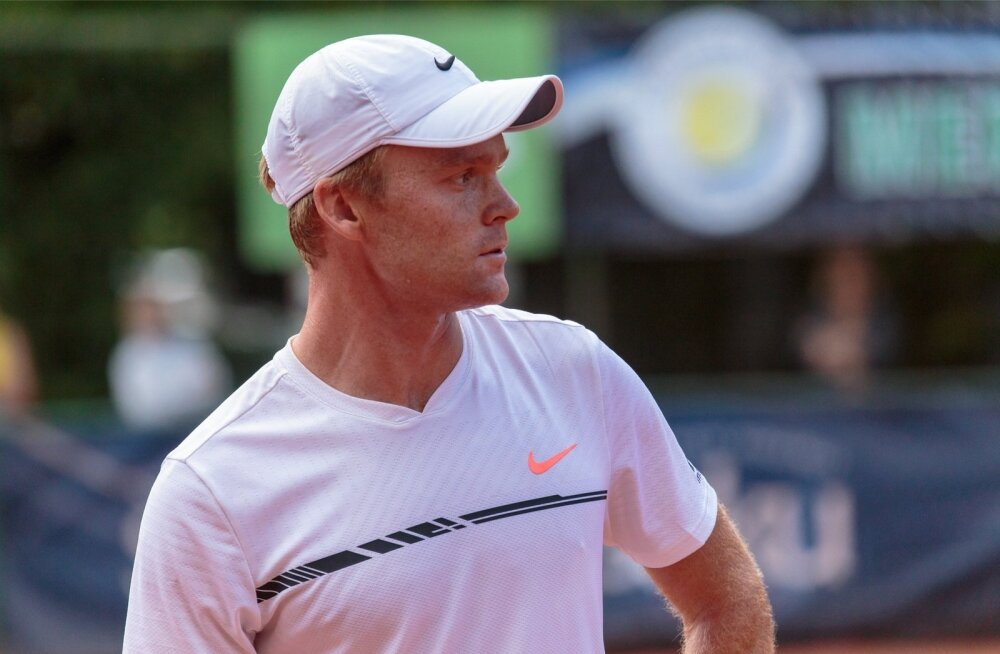 Jürgen Zopp -  Leonard Von Hindte Merko Estonian Open tenniseturniir Pärnus
