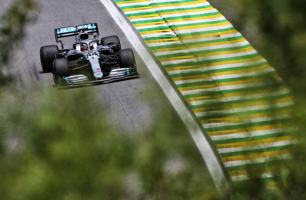 Hamilton näitas Brasiilia GP viimasel vabatreeningul kiireimat minekut