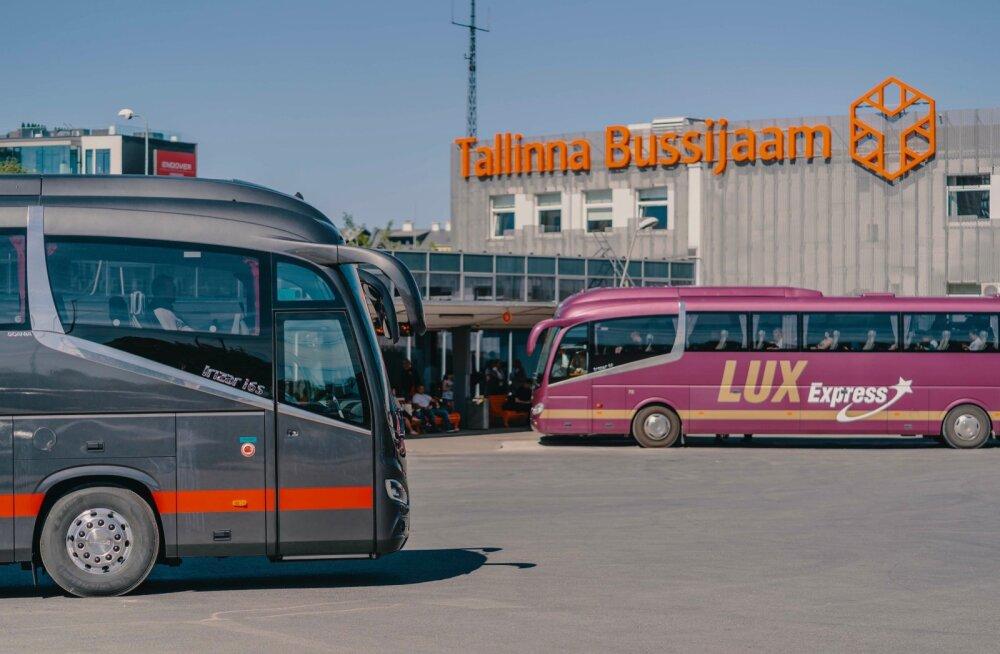 Lux Express возобновляет международное автобусное сообщение между столицами Эстонии, Латвии и Литвы