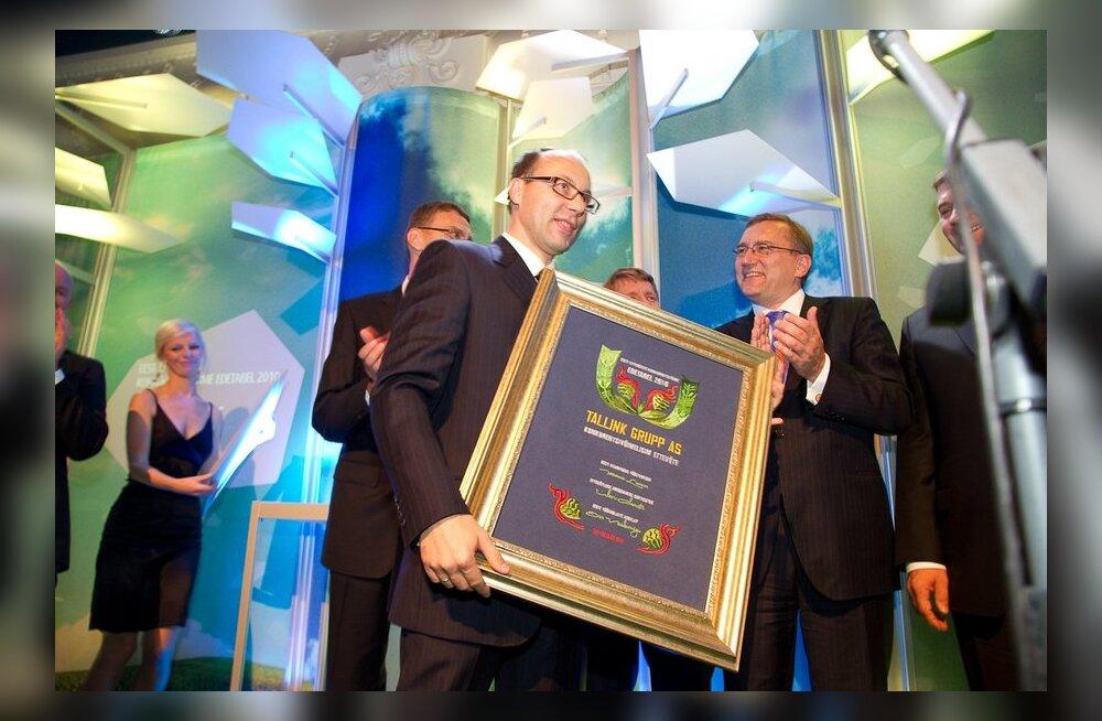 EASi aasta ettevõtluse auhinnale kandideerivad Molycorp, Ragn-Sells ja AHHAA keskus