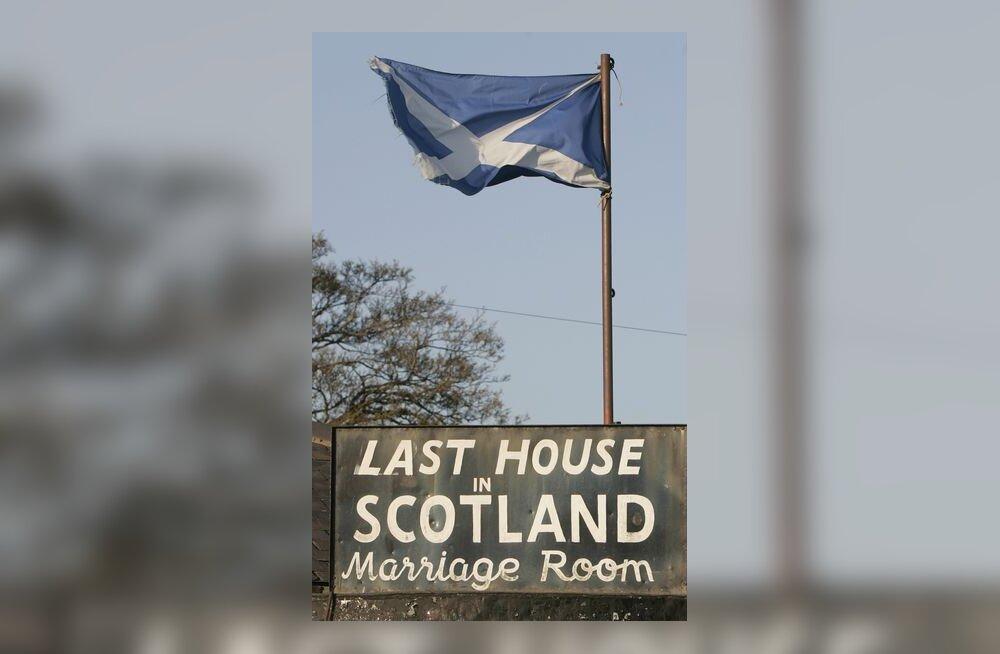 Šotimaa, šoti, lipp