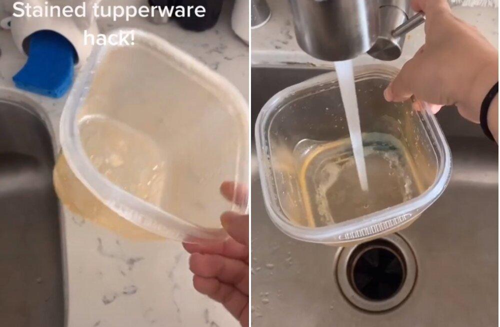 VIDEO | Sa ei saa kuidagi oma plastkarpe puhtaks? See geniaalne häkk aitab!