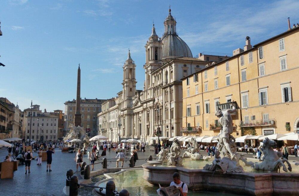 Kaasmaalased pahanduses! Roomas said kaks eestlannat purskkaevus suplemise eest suure trahvi
