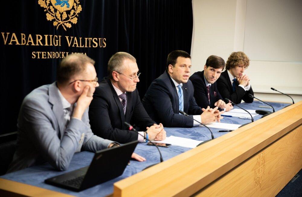 Valitsuse pressikonverents 6. juunil