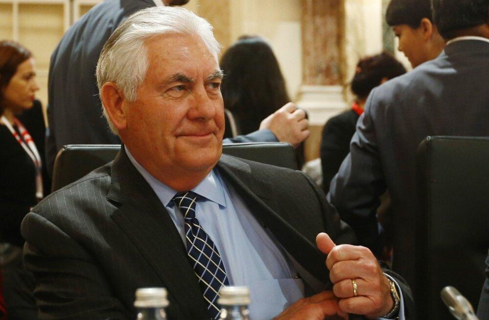 Tillerson: Venemaa-vastased sanktsioonid jäävad kuni Ukrainast väljatõmbumiseni