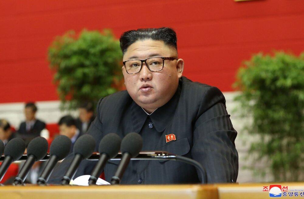 Kim Jong-un: meil tuleb jätkata oma peamise vaenlase USA õõnestamist