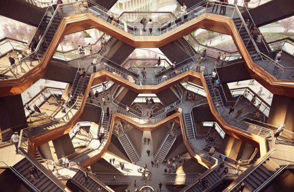 """В Нью-Йорке появится """"бесконечная"""" лестница"""