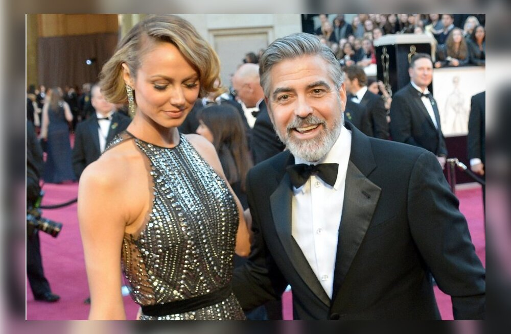 George Clooney ja Stacy Keibler