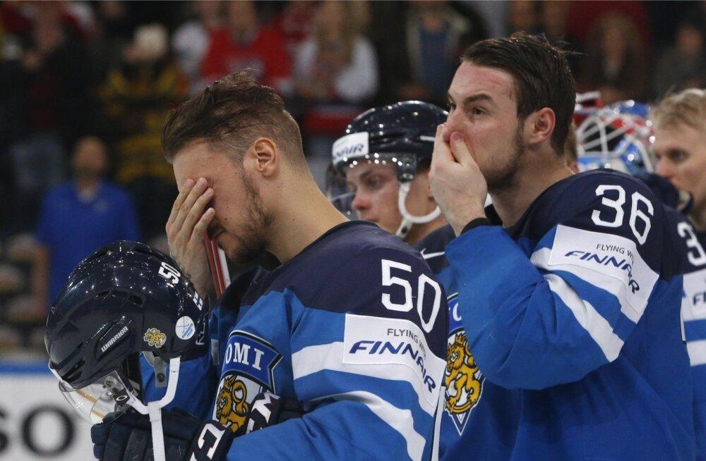 Pettumus on suur. Soome sai tšehhide käest häbiväärselt nahutada.
