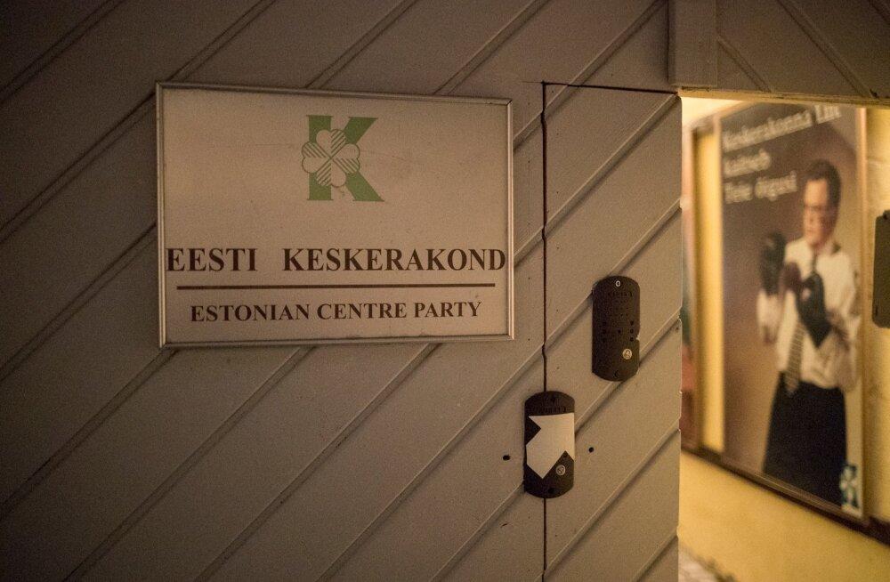 Keskerakond jätkab kohtuteed: 110 000 eurot riigile maksta ei taheta