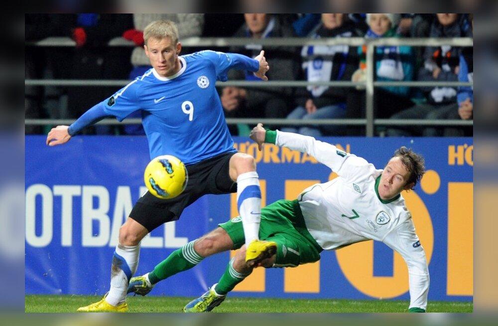 Selgus Eesti koondis mänguks Prantsusmaa vastu