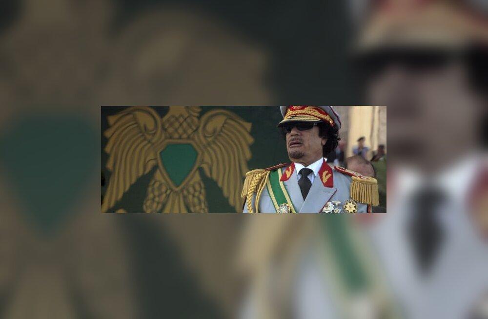 Gaddafi taotles ÜRO-lt Šveitsi likvideerimist