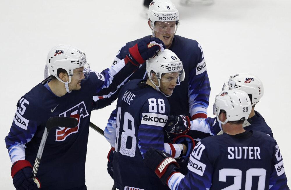 USA kinkis MM-il Saksamaale teise järjestikuse kaotuse ja kindlustas pääsu veerandfinaali