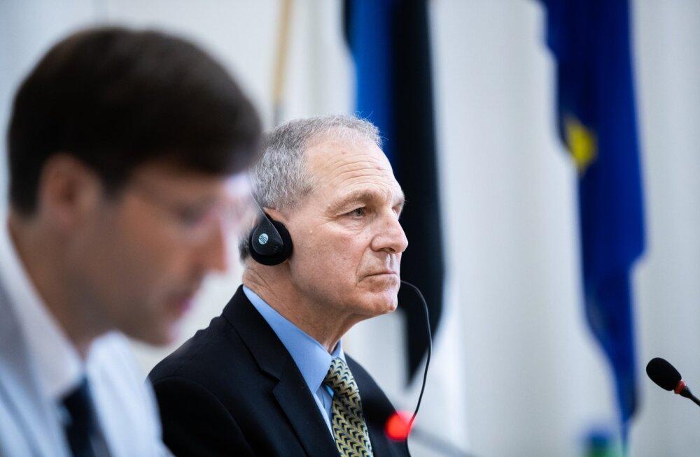 Martin Helme ja advokaadibüroo Freeh Sporkin & Sullivan LLP juht ja asutaja Louis Freeh pidasid eelmisel nädalal Tallinnas ühise pressikonverentsi.