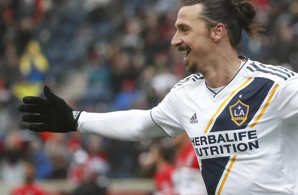 VIDEO | Kolm mängu, kolm väravat! Zlatan Ibrahimović hiilgas MLS-is taas võidutabamusega
