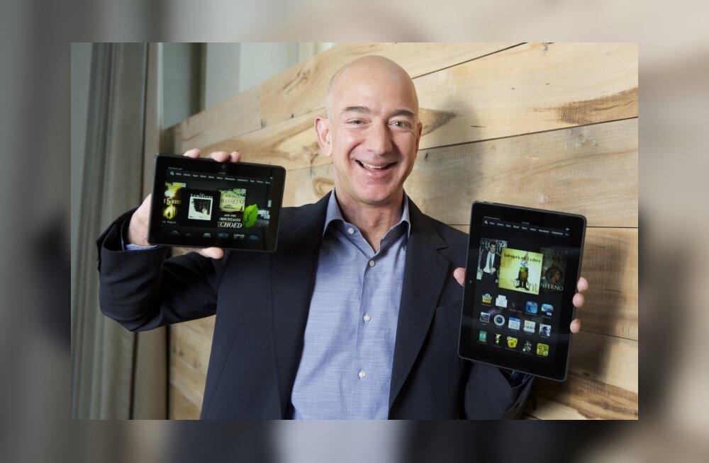 Amazoni salaplaanidest: e-poe tähtsus tehnikatootjana aina kasvab