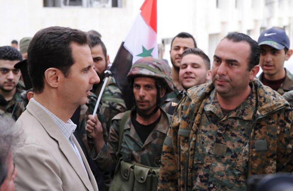 Süüria president Assad oma vägedele: võit on lähedal!