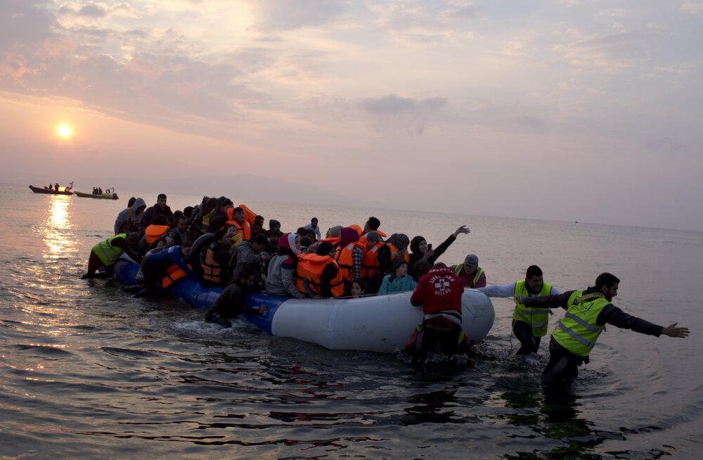 GRAAFIK: Migrantide vool Kreekasse kuivas nädalaga kokku