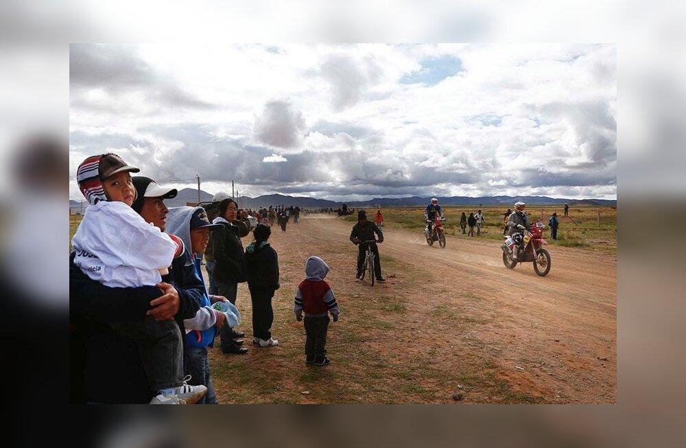 Toomas Triisa ja Mart Meeru Boliivias