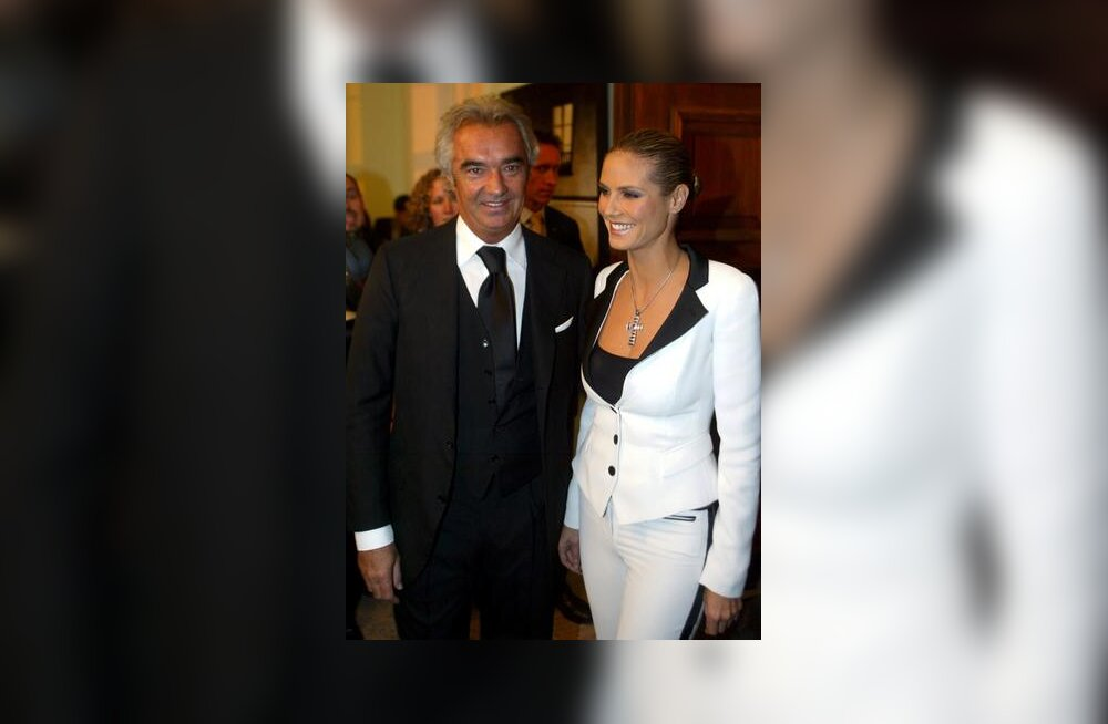 Flavio Briatore ja Heidi Klum