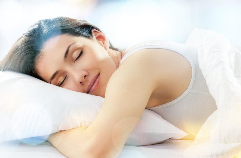 Hea une saladus: rahustav magamaminekurituaal