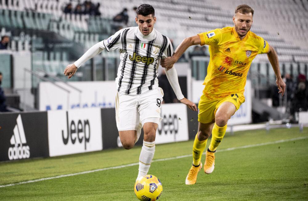 Juventuse vastu algkoosseisus alustanud Klavanilt võeti VAR-iga värav ära