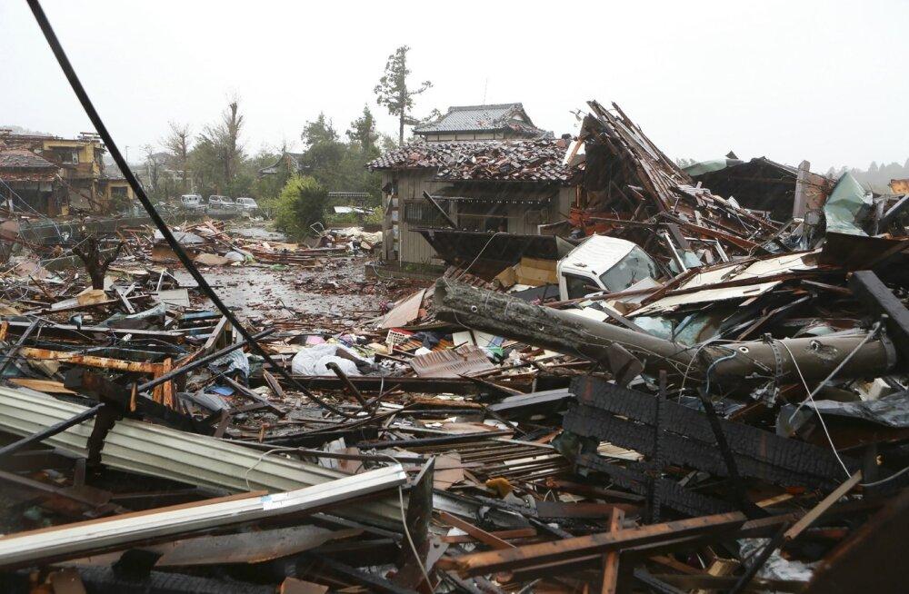 Eestlane Jaapanis: kulmineeruv taifuun, ootamatu maavärin ning hirm tsunami ees