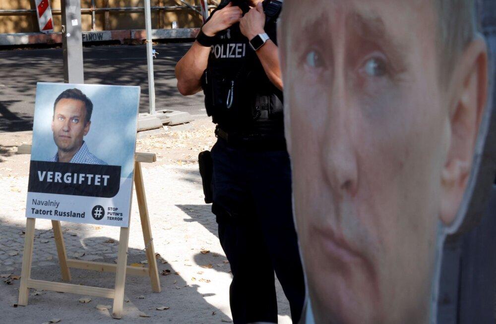 """Эстония и еще четыре страны призвали РФ """"раскрыть обстоятельства отравления"""" Навального"""