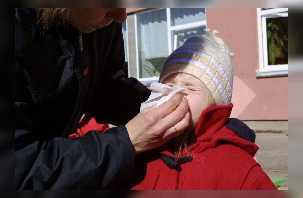 Võimalus lõpetada lapse allergiavaevad ainult kolme aastaga
