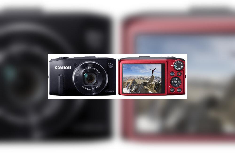 b58e6281ae5 Canoni kaks võimekat kompaktkaamerat: PowerShot SX280 HS ja SX270 HS ...